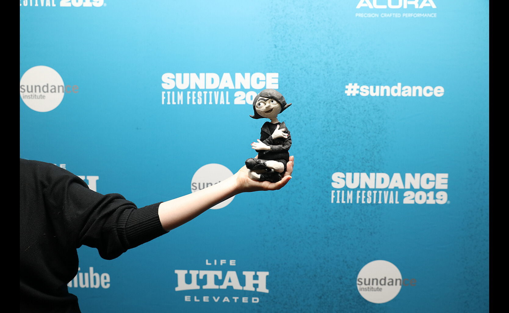 A special guest attends the Premiere of Untravel by Ana Nedeljkovic and Nikola Majdak, an official selection of the Shorts Programs at the 2019 Sundance