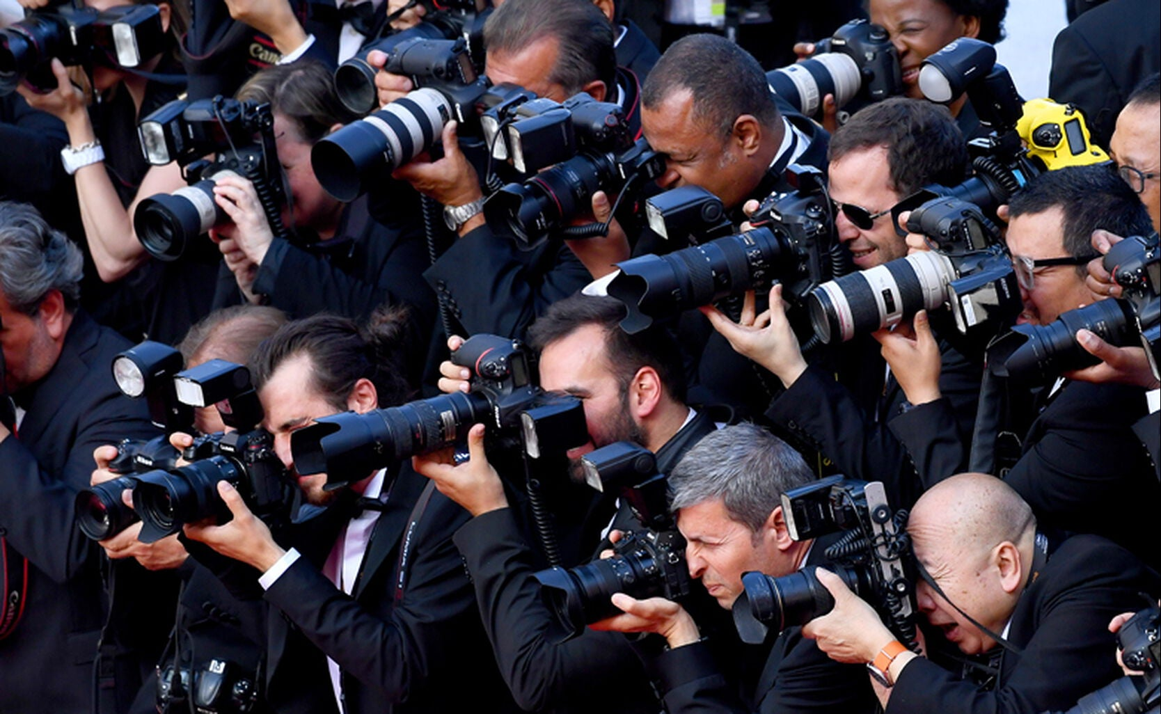 Press at 72nd Cannes Film Festival