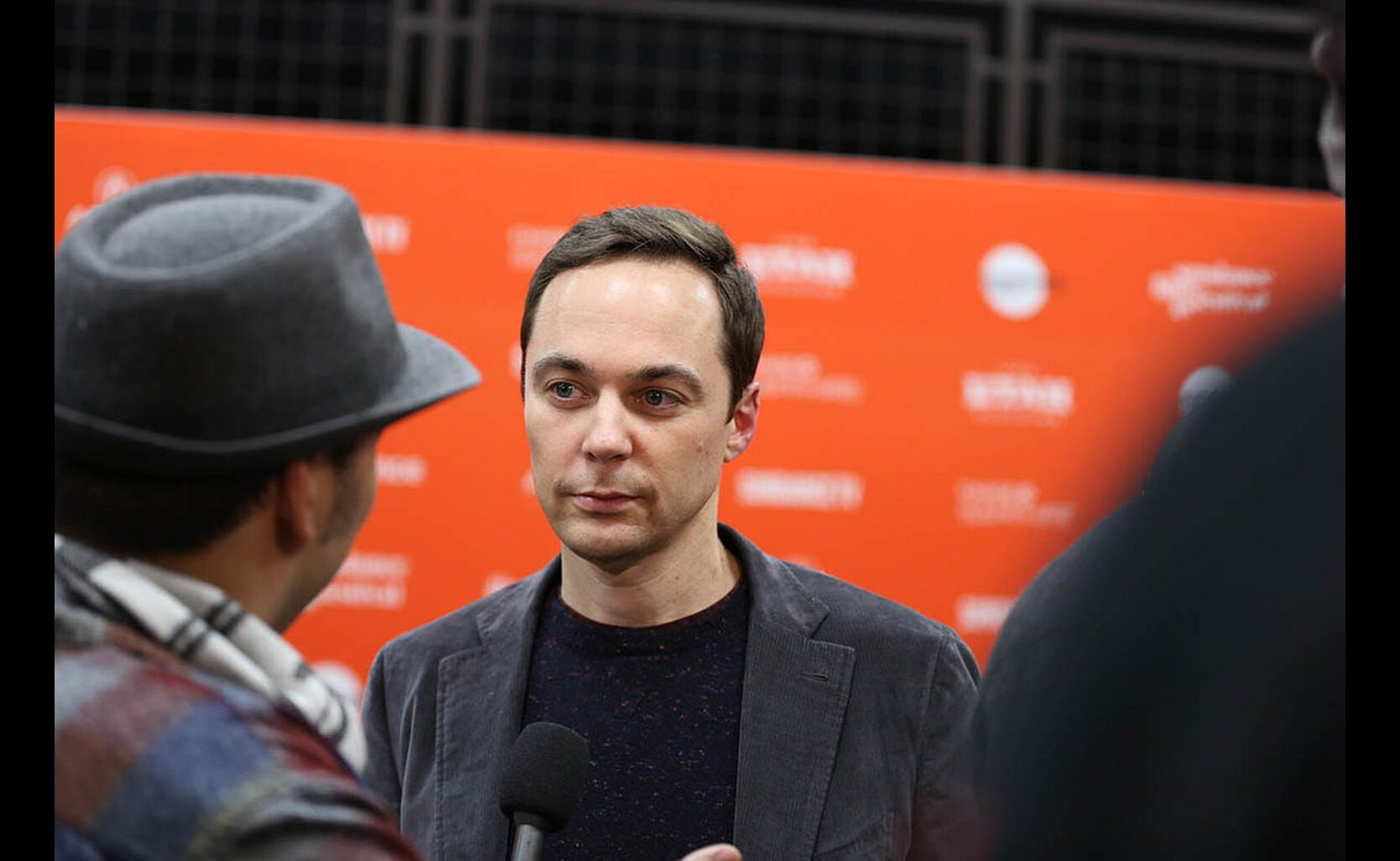 Acrtor Jim Parsons at Sundance 2018