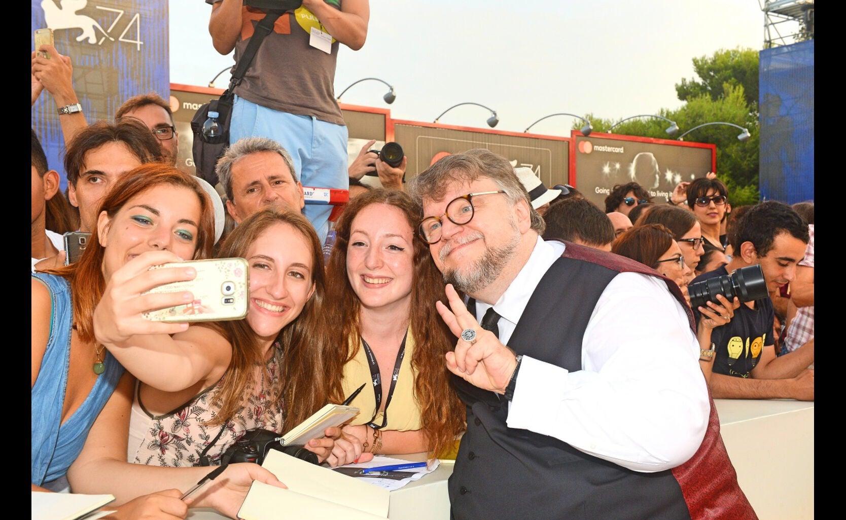 Director Guillermo del Toro at the  2017 Venice Film Festival