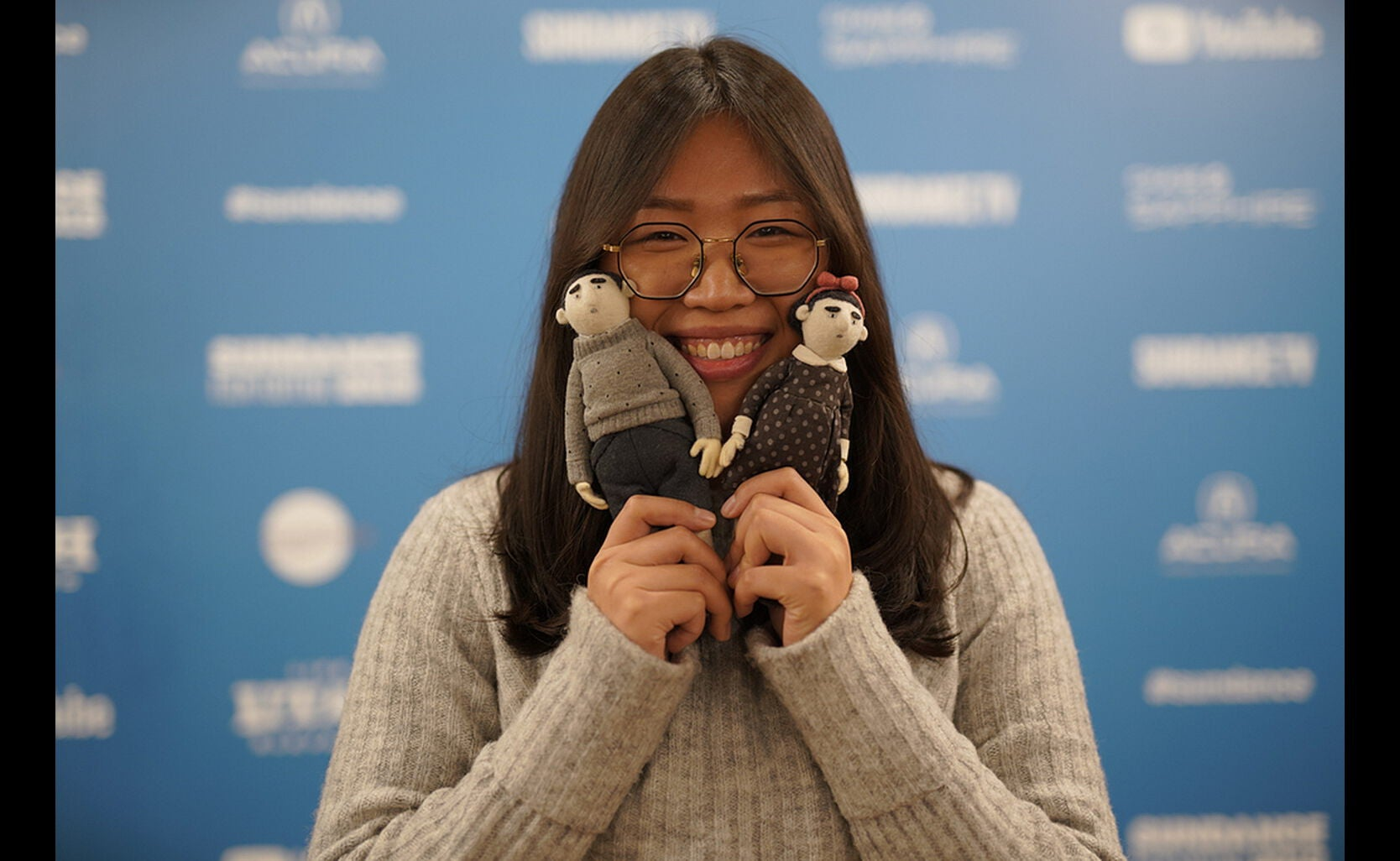 Director Siqi Song at Sundance 2019.