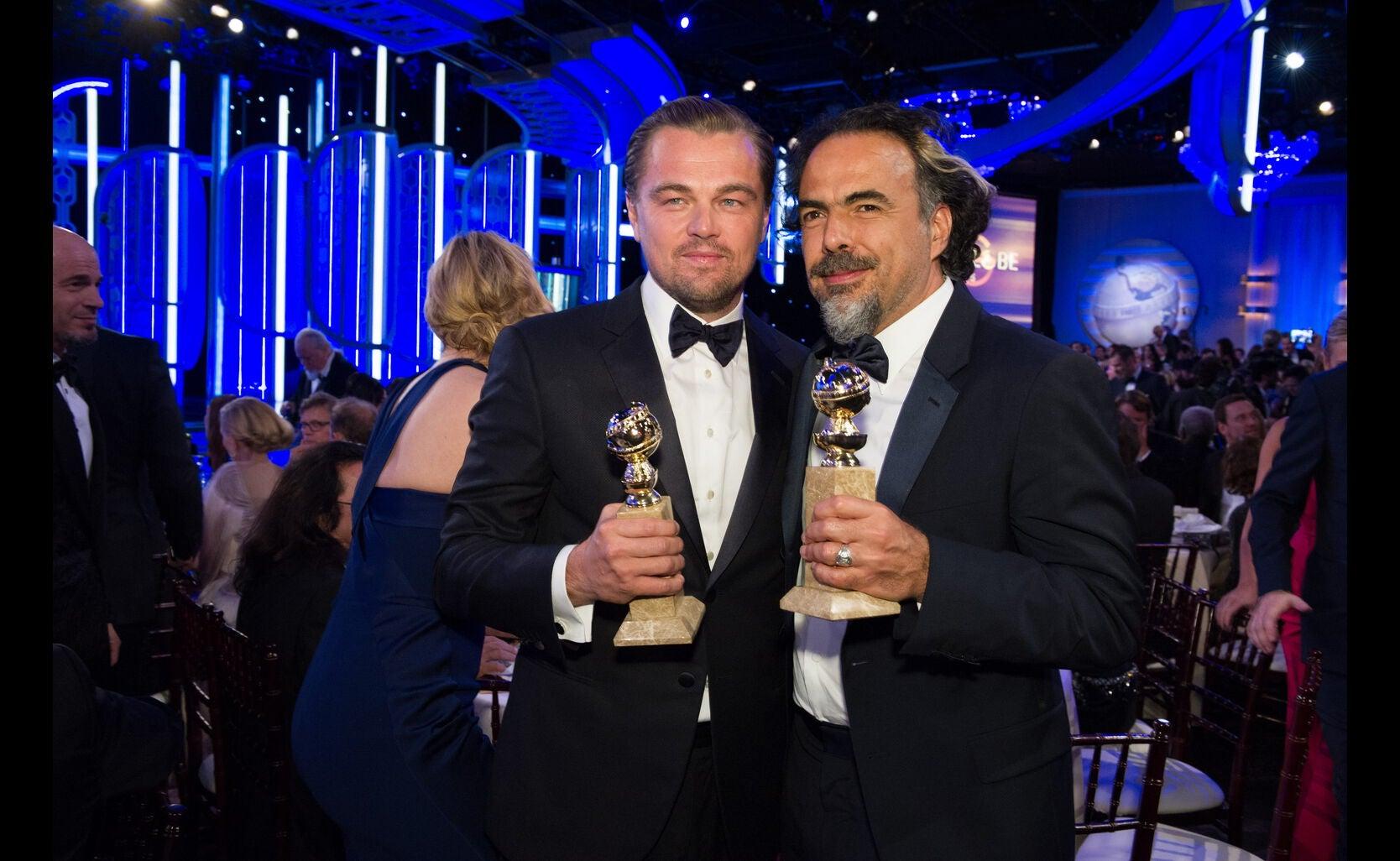 Director Alejandro Inarritu and Actor Leonardo diCaprio