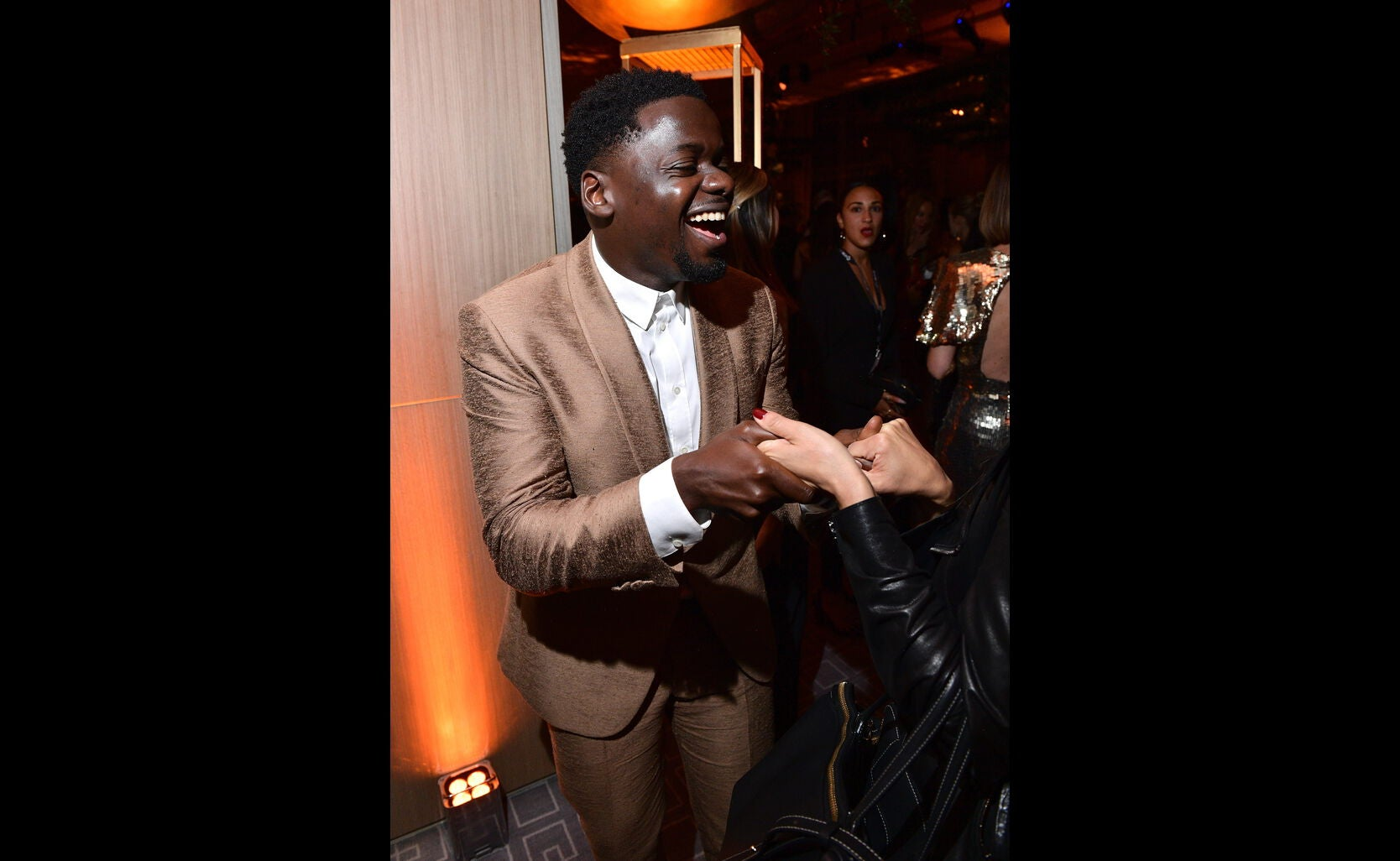 Actor Daniel Kaluuya, Golden Globe nominee