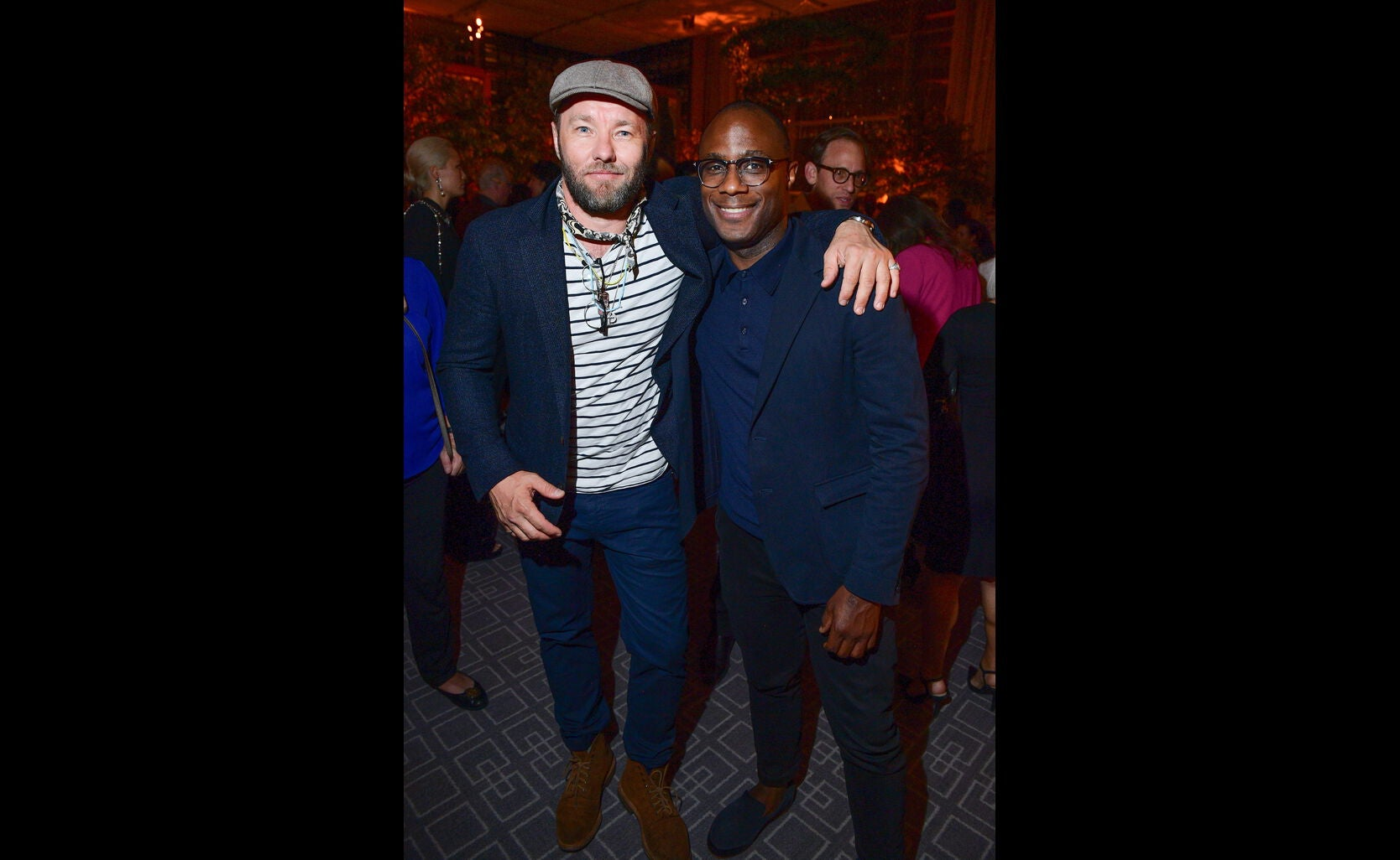 Joel Edgerton and Barry Jenkins