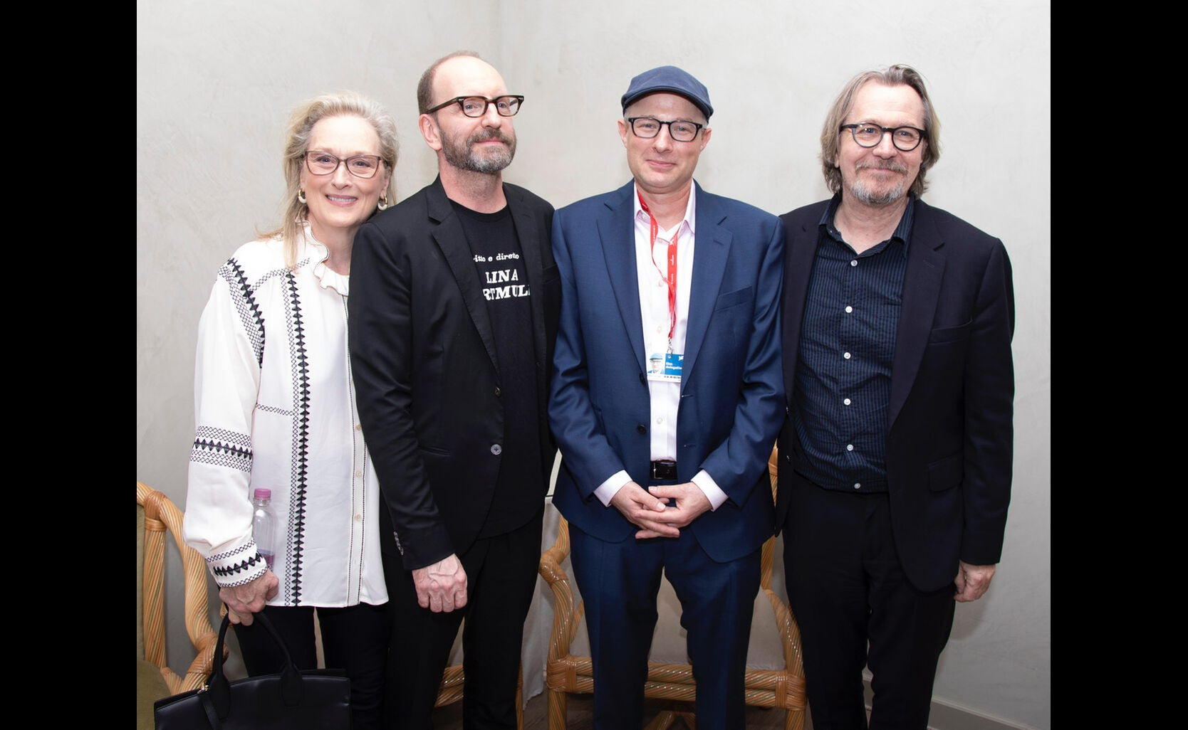 "Cast, writer and director of ""The Laundromat"", 2019"
