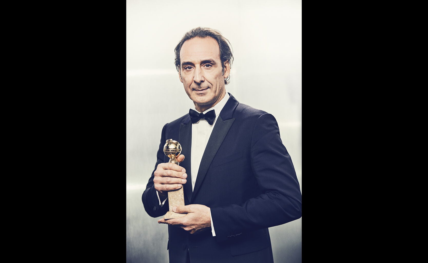 Composer Alexandre Desplat, Golden Globe winner