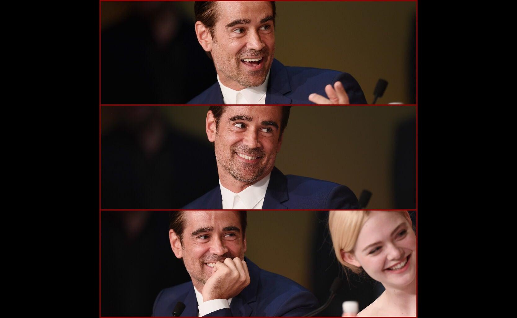 Colin Farrell in Cannes 2017