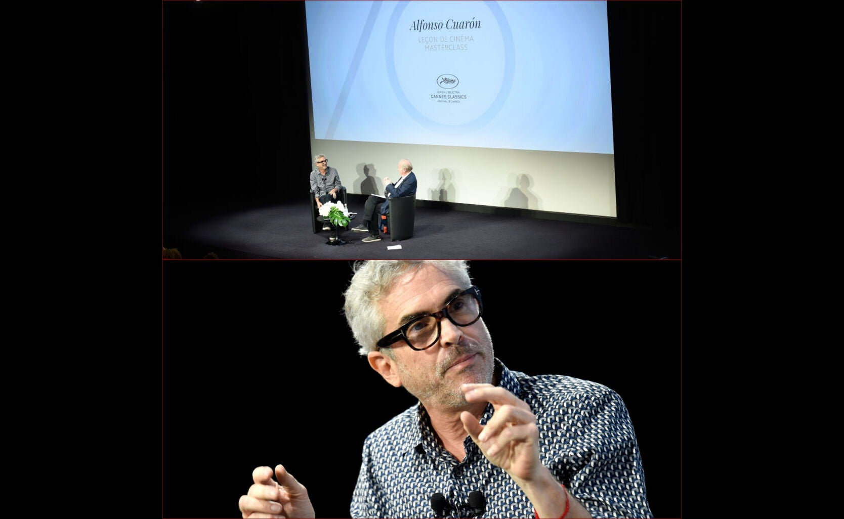Director Alfonso Cuarón in Cannes 2017