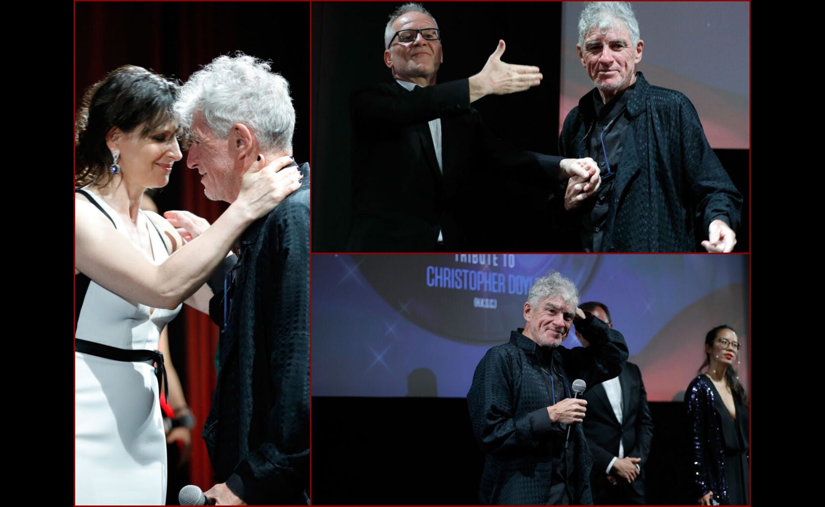 Cinematographer Christopher Doyle receives award in Cannes 2017
