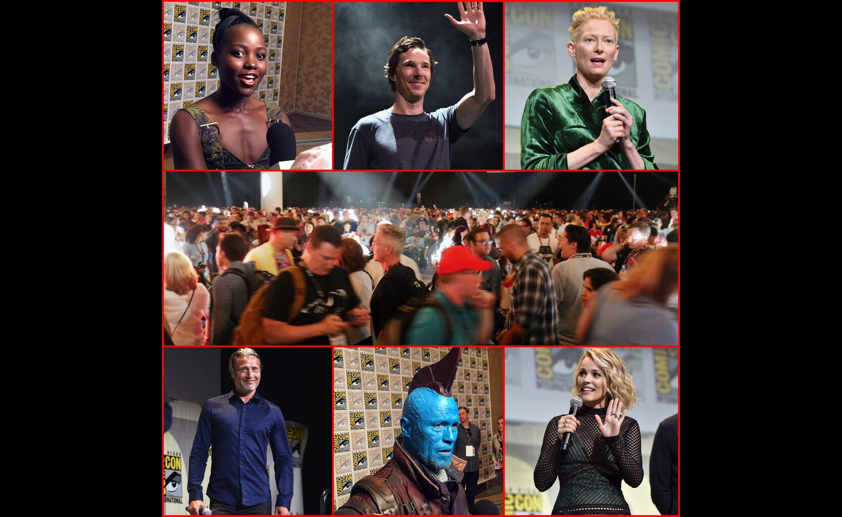 Scenes from the Marvel Studios presentation at Comic-Con 2016
