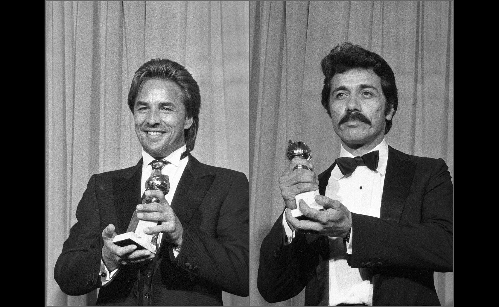 Miami Vice stars Don Johnson and Edward James Olmos