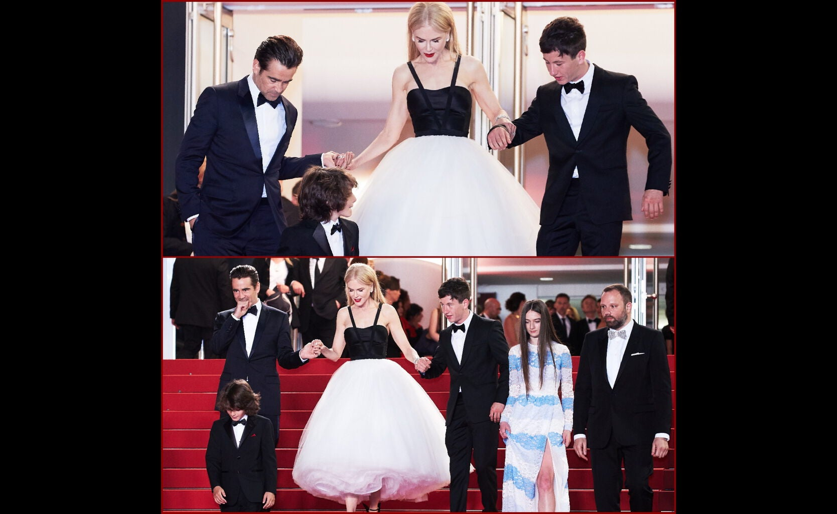 """Nicole Kidman and the cast of """"The Killing of a Sacred Deer"""" in Cannes 2017"""