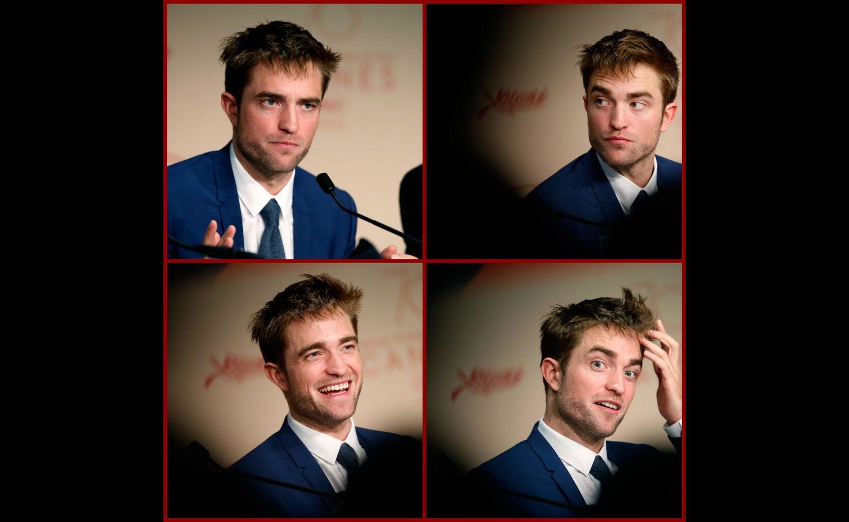 Actor Robert Pattinson in Cannes 2017