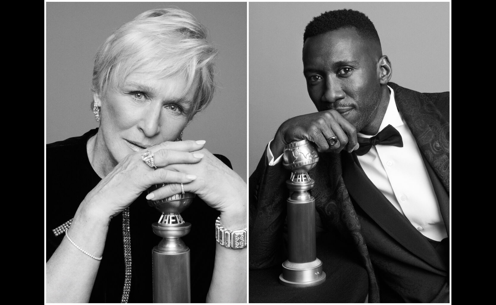 Glenn Close, Mahershala Ali