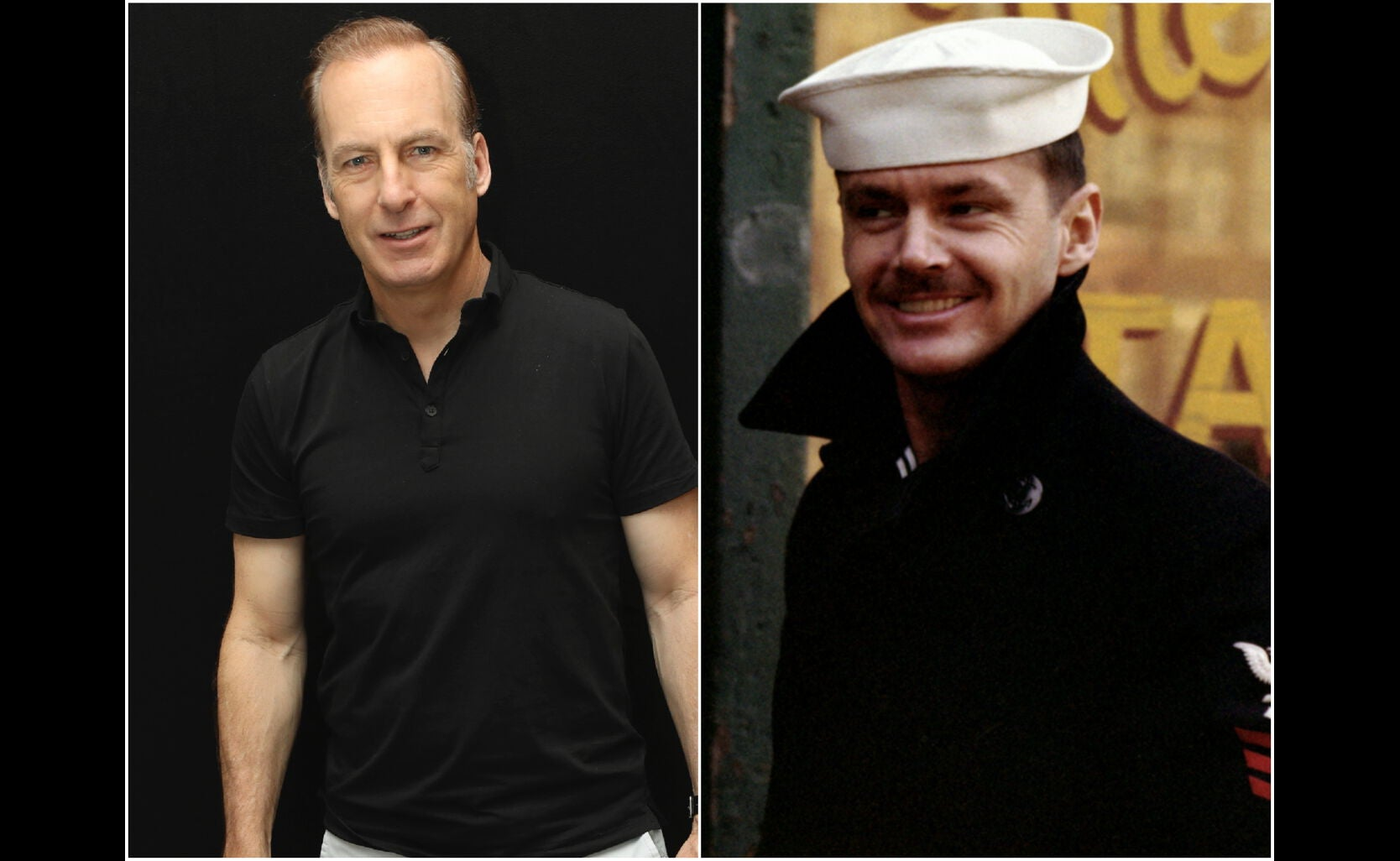 "Bob Odenkirk and a scene from ""The Last Detail"""