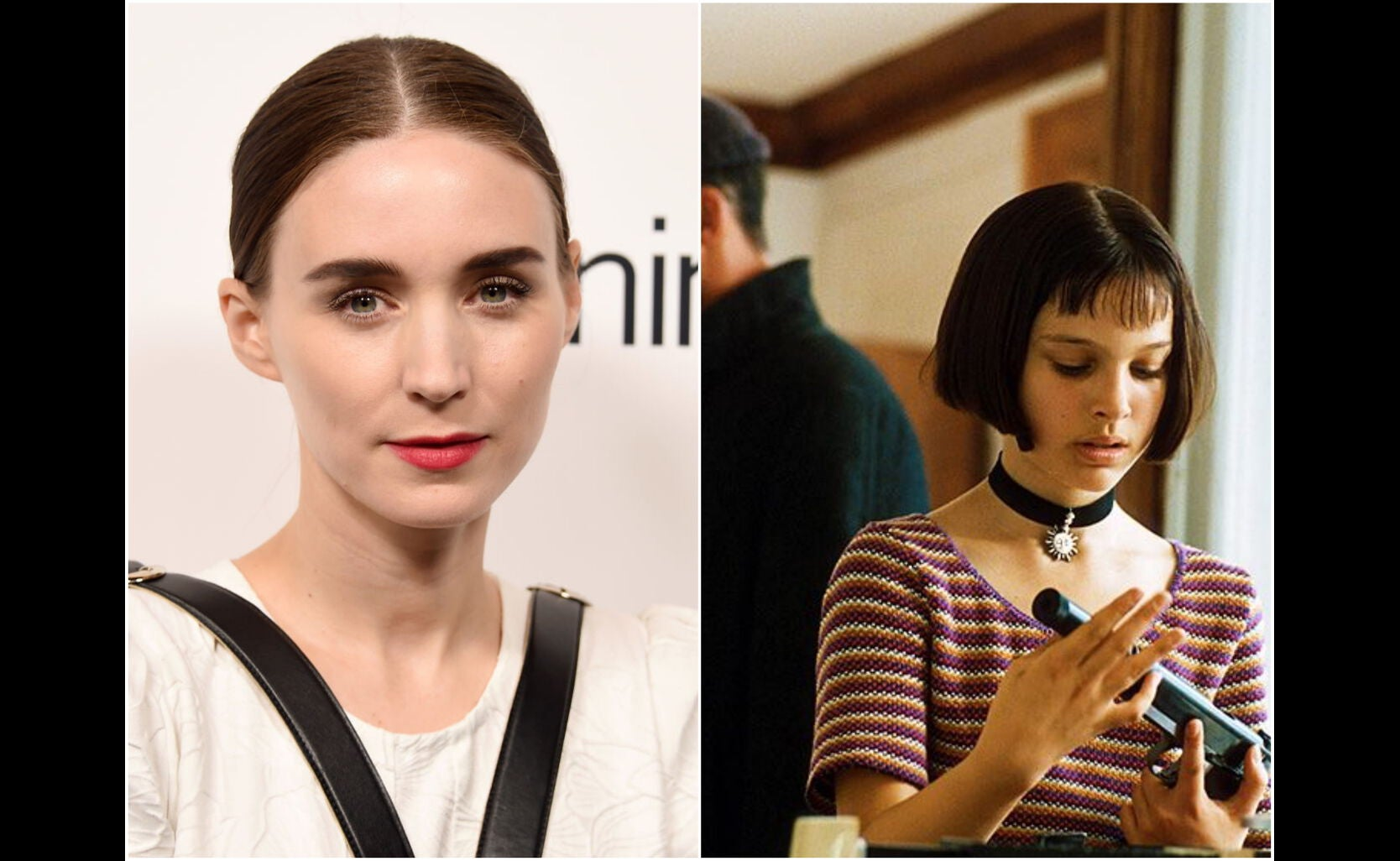 "Rooney Mara an a scene from ""The Professional"""