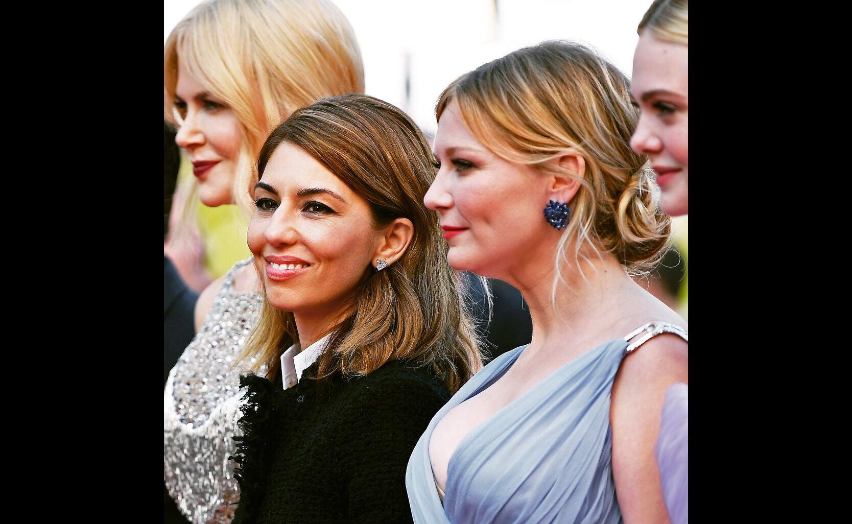 Nicole Kidman, director Sofia Coppola, Kirsten Dunst, Elle Fanning