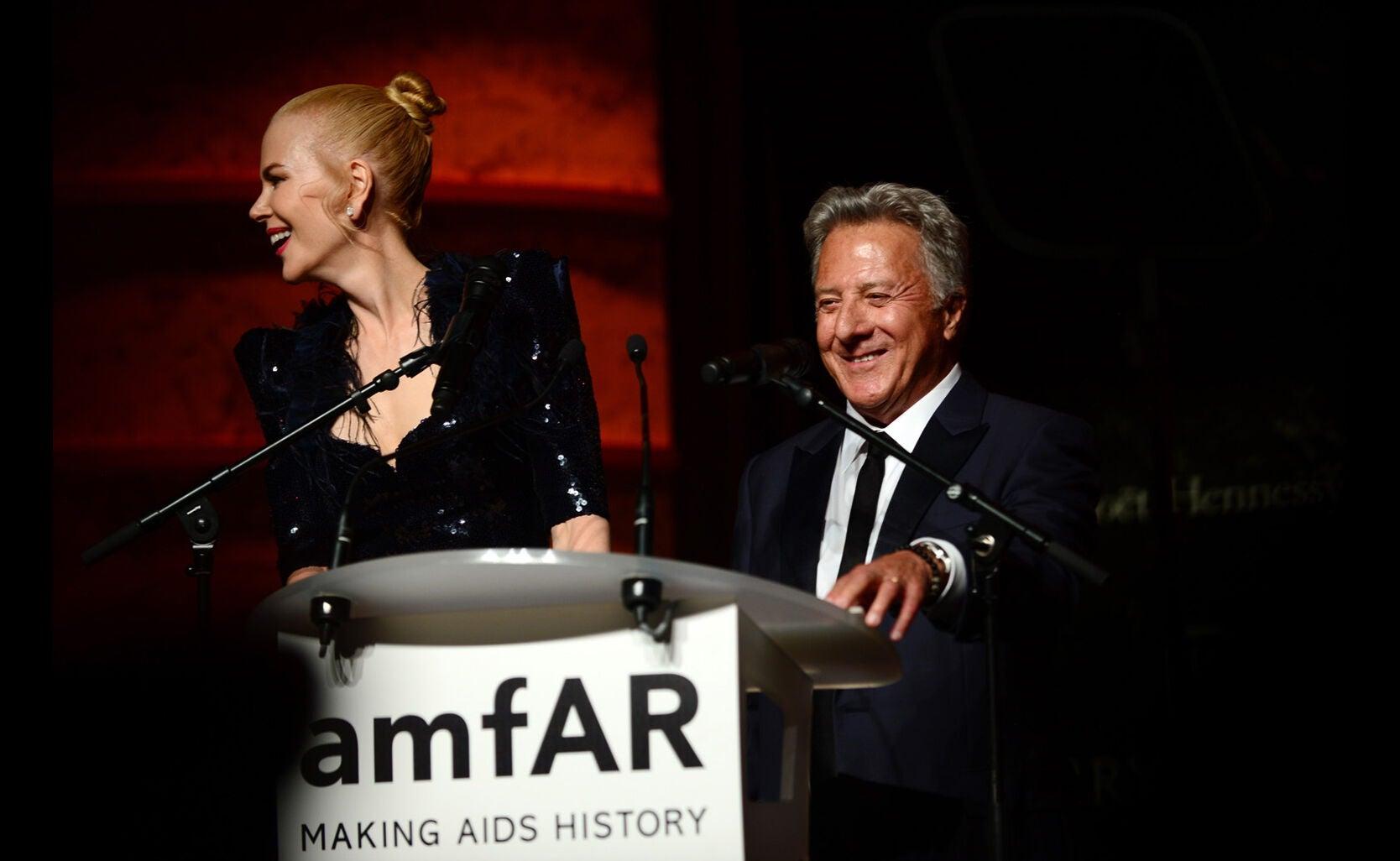 Nicole Kidman and Dustin Hoffman