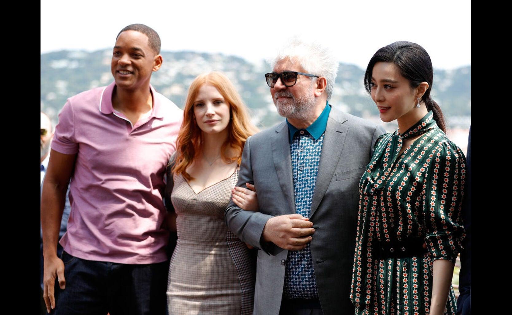 Will Smith, Jessica Chastain, Pedro Almodovar and Fan Bingbing