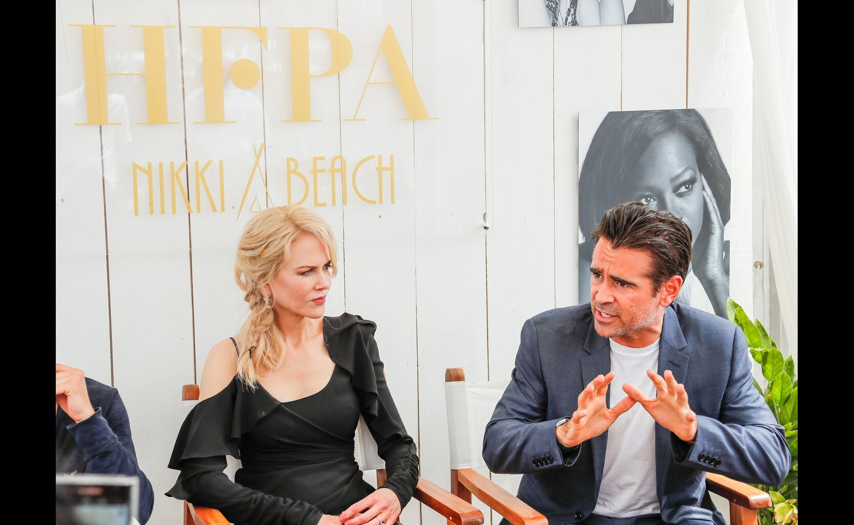 Nicole Kidman and Colin Farrell