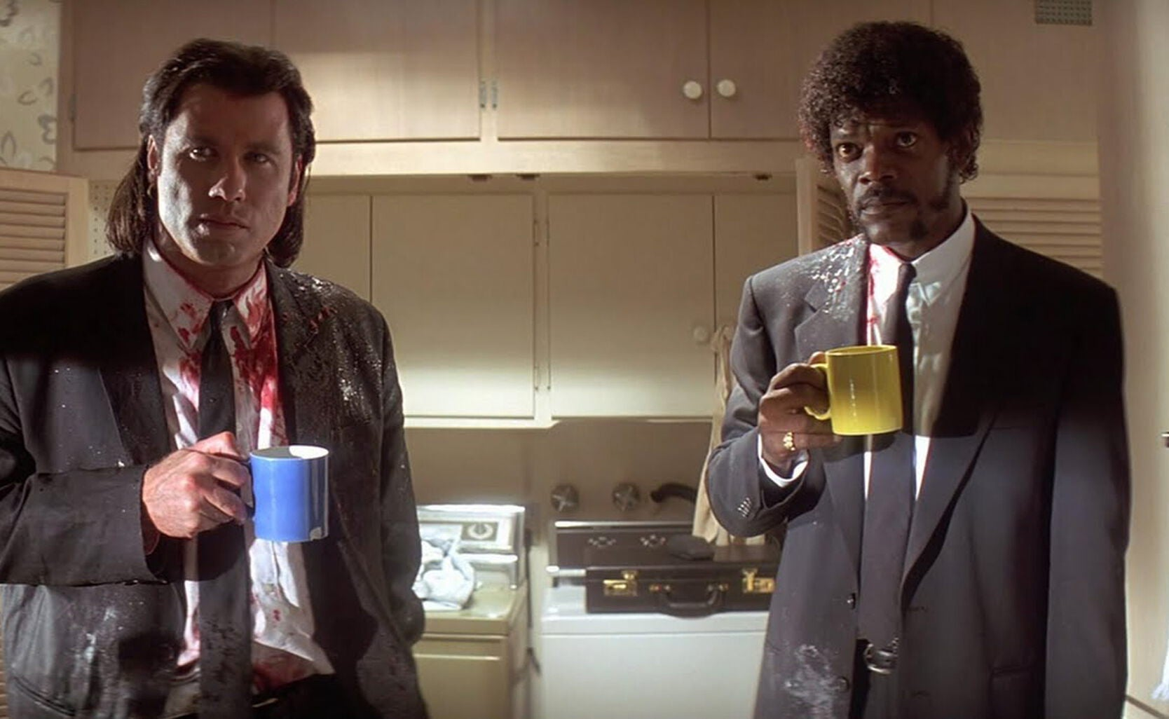 "Scene from the film ""Pulp Fiction"""