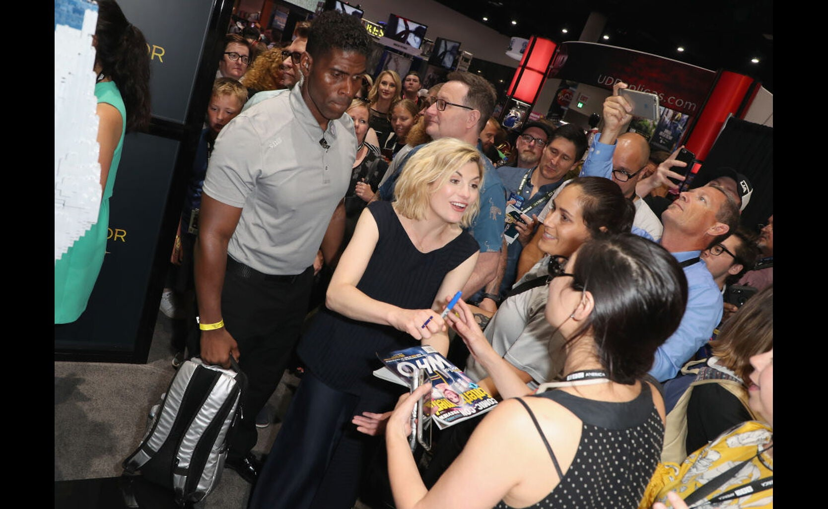 Actress Jodie Whittaker at Comic-Con 2018