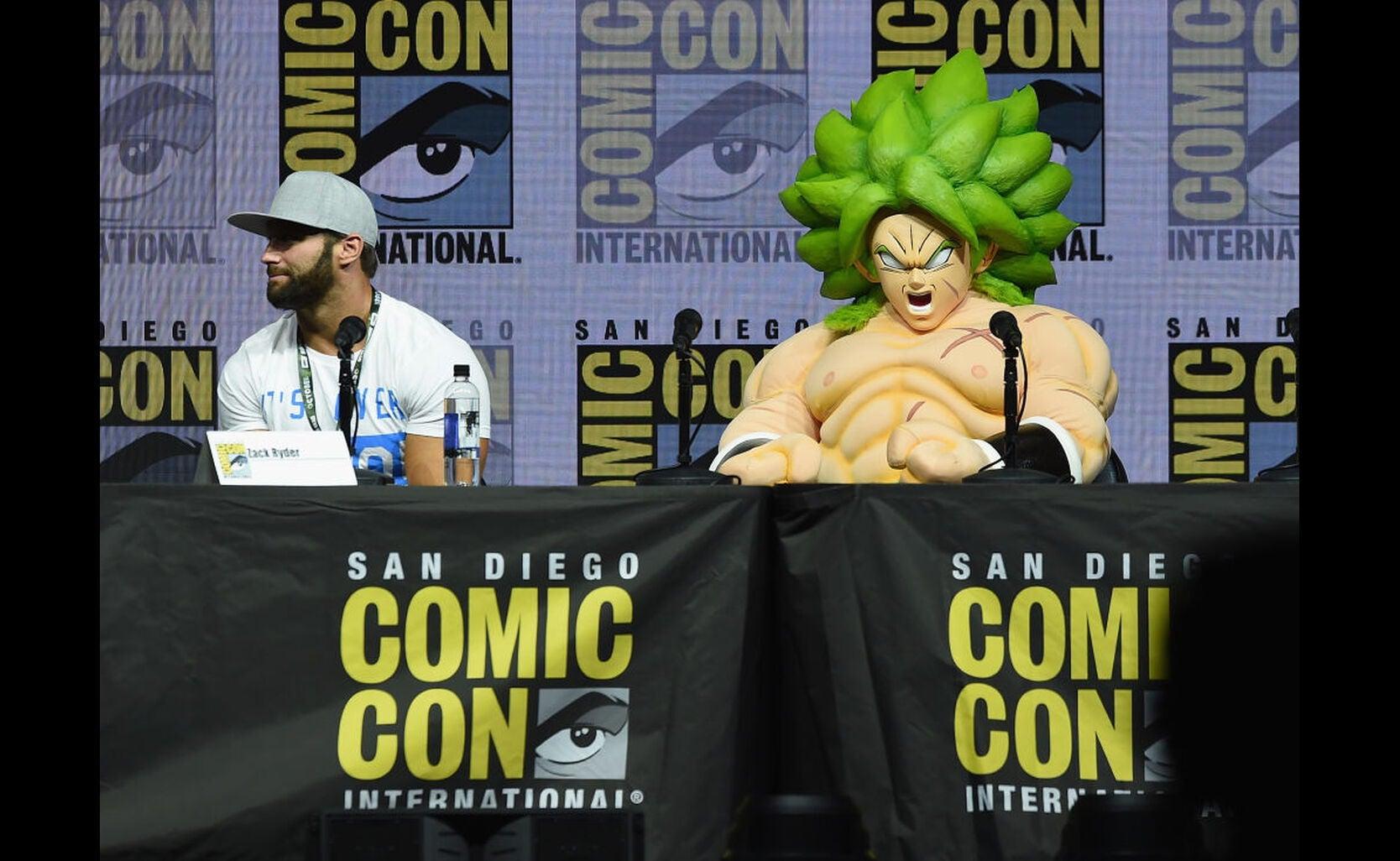 Dragon Ball panel at Comic-Con 2018