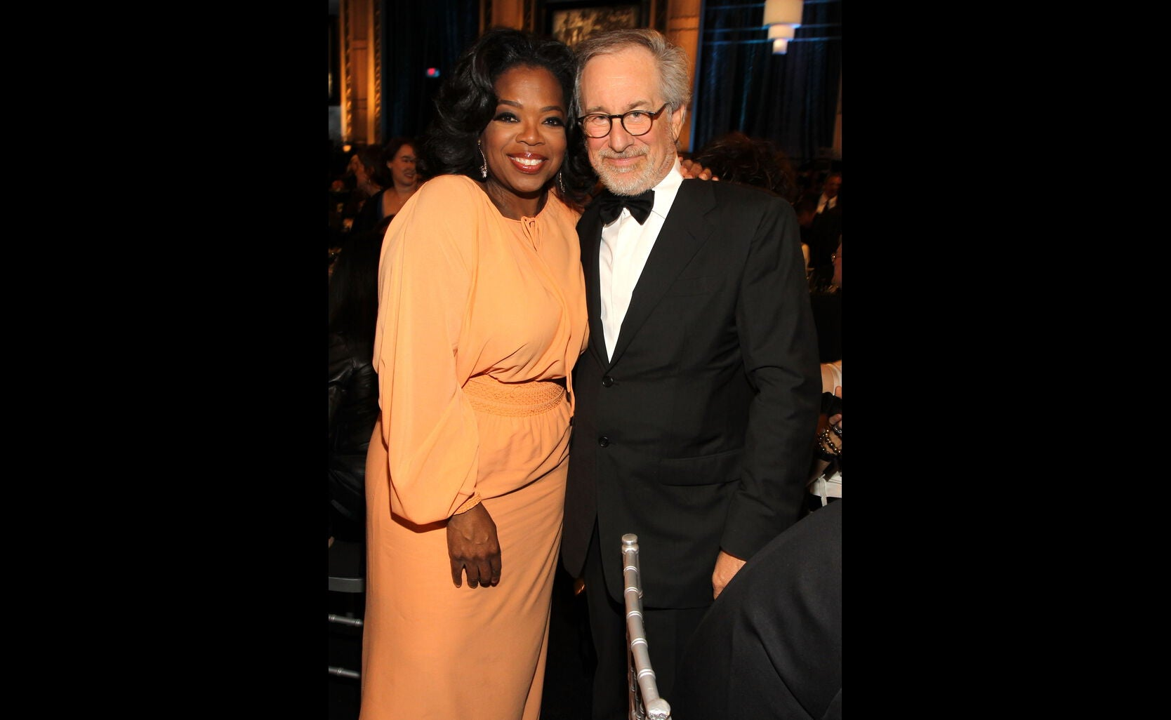 Oprah and Steven Spielberg