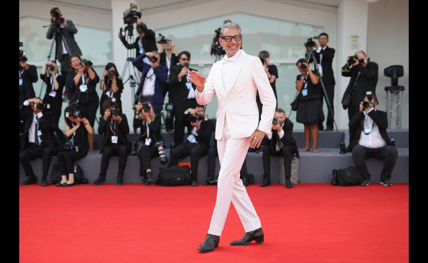 Jeff Goldblum, Venice 2018