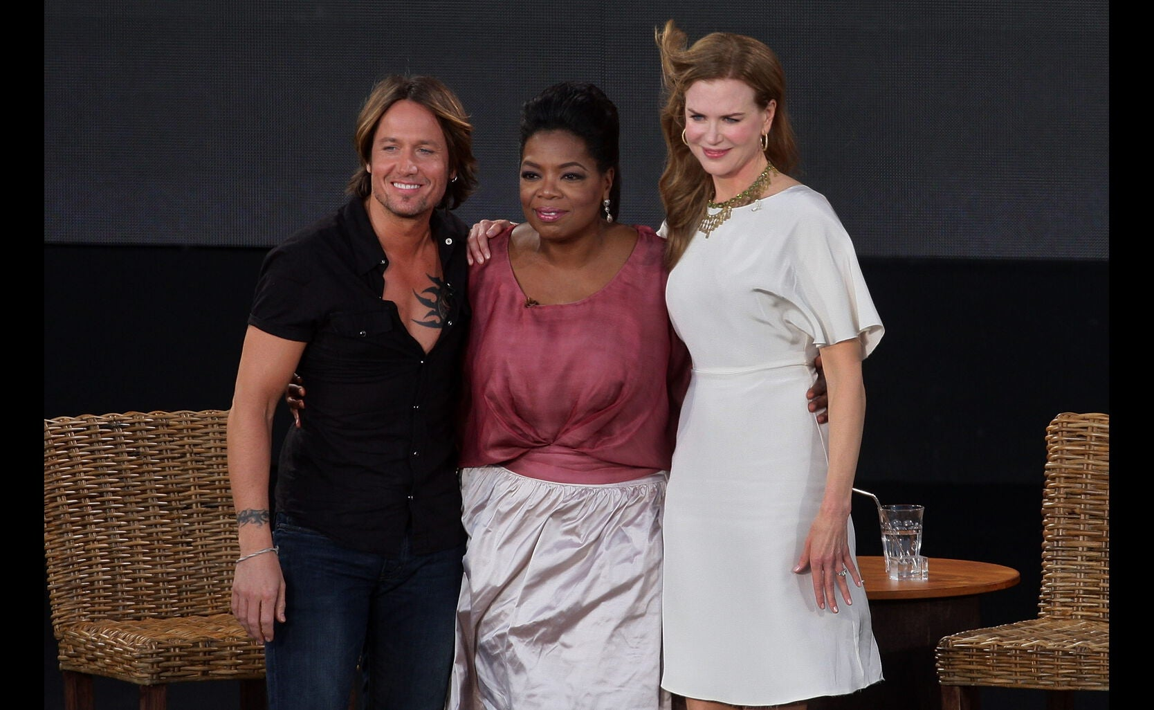 Oprah in Sydney with Nicole Kidman and Keith Urban