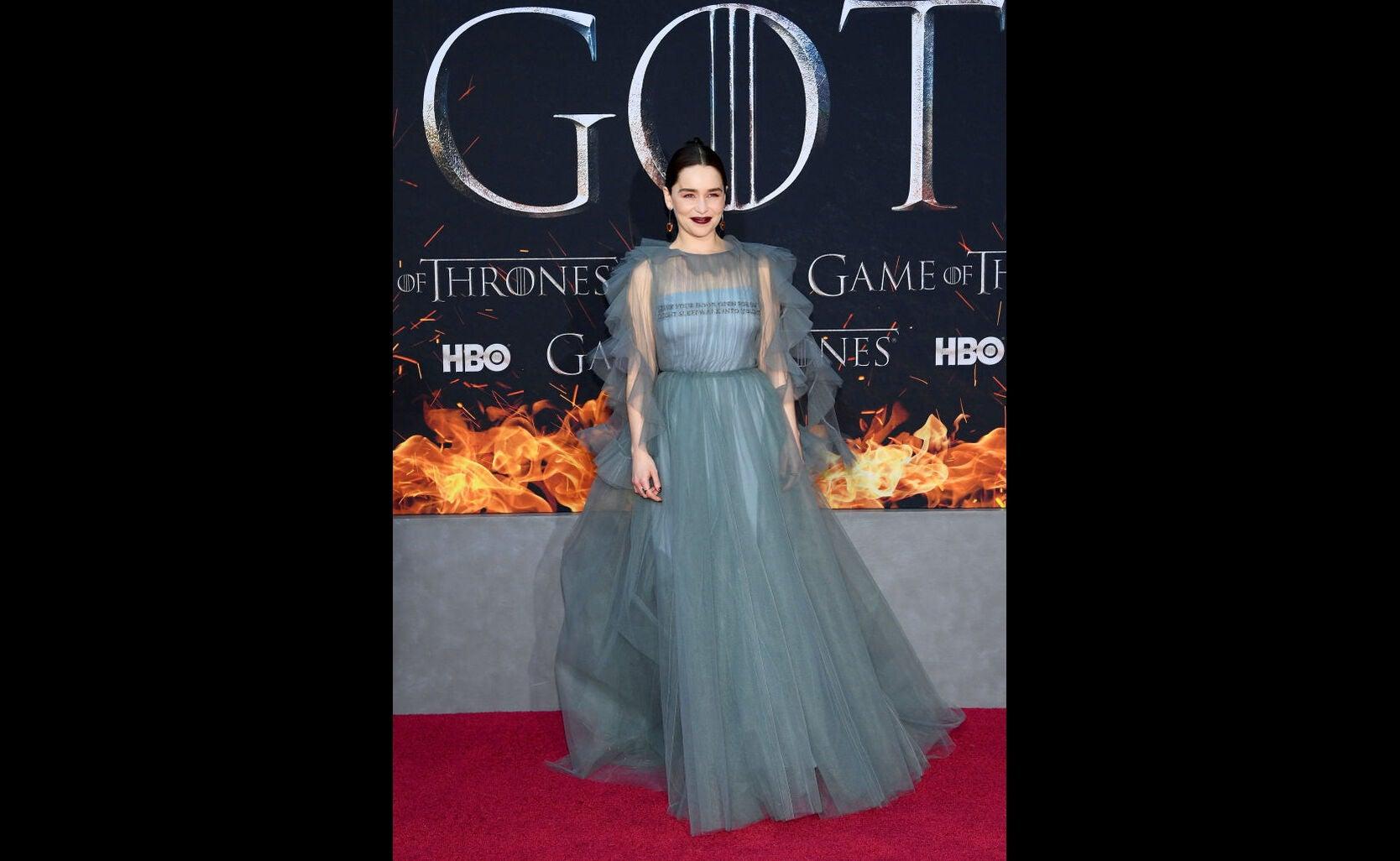 Emilia Claerke, premiere Game of Thrones, season 8