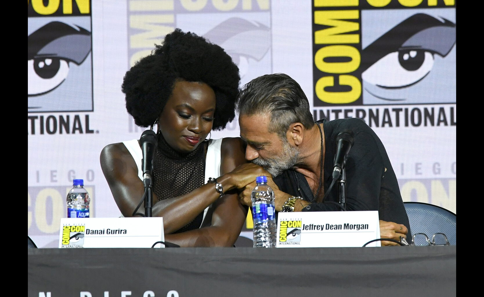 The Walking Dead panel at 2019 Comic-Con