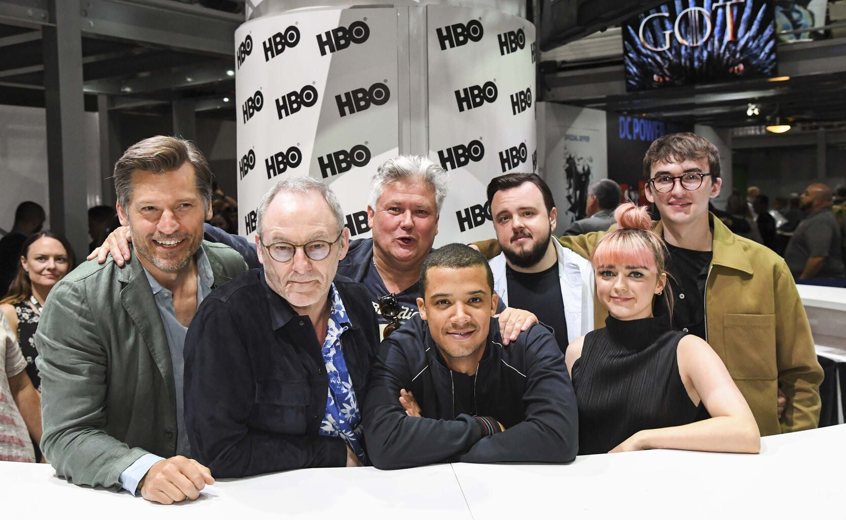 Cast of the TV Series Game of Thrones at Comic-Con 2019