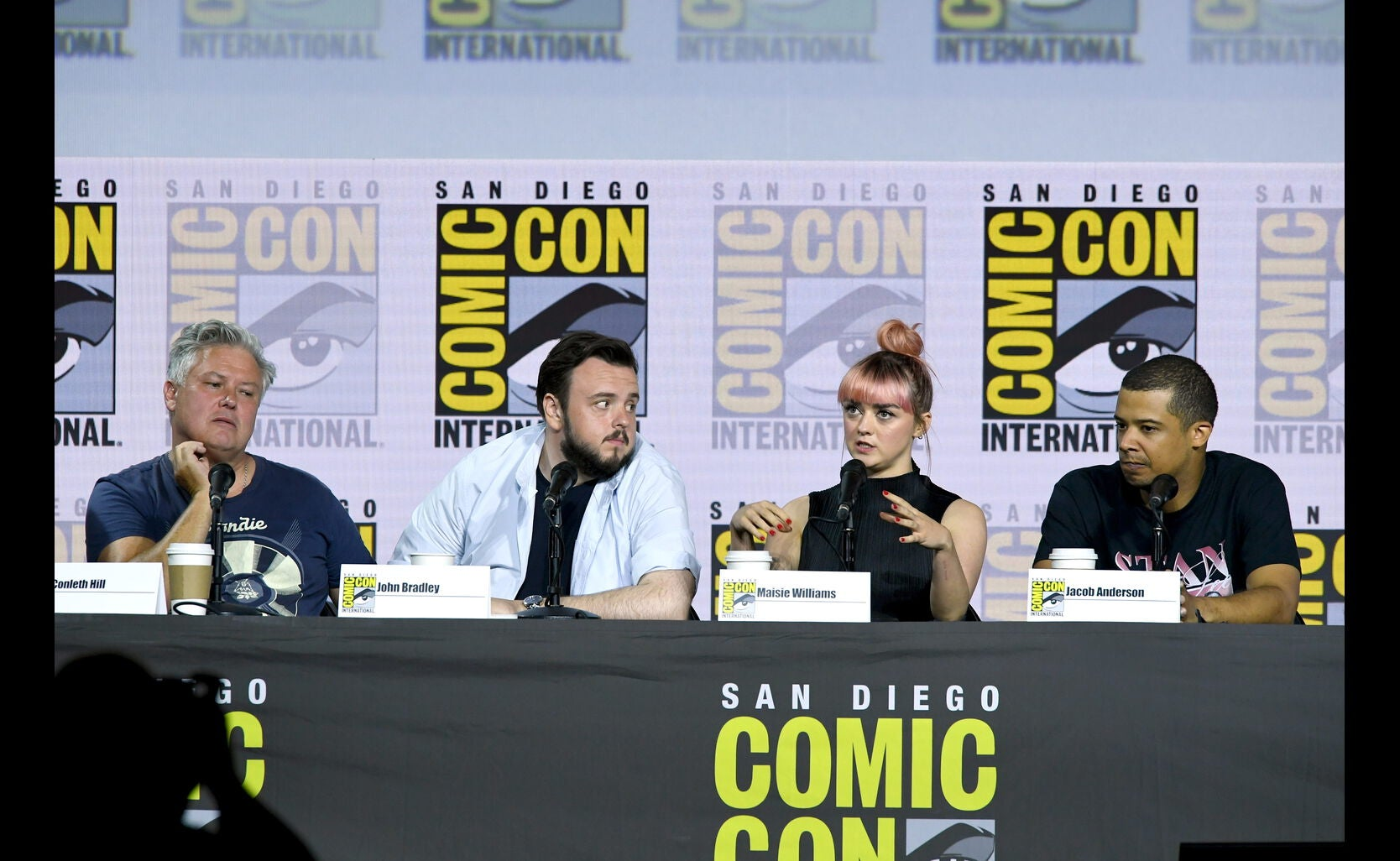 The Game of Thrones panel at SDCC 2019