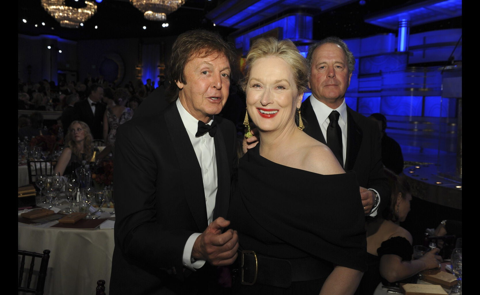 Actress Meryl Streep, Golden Globe winner, in 2010