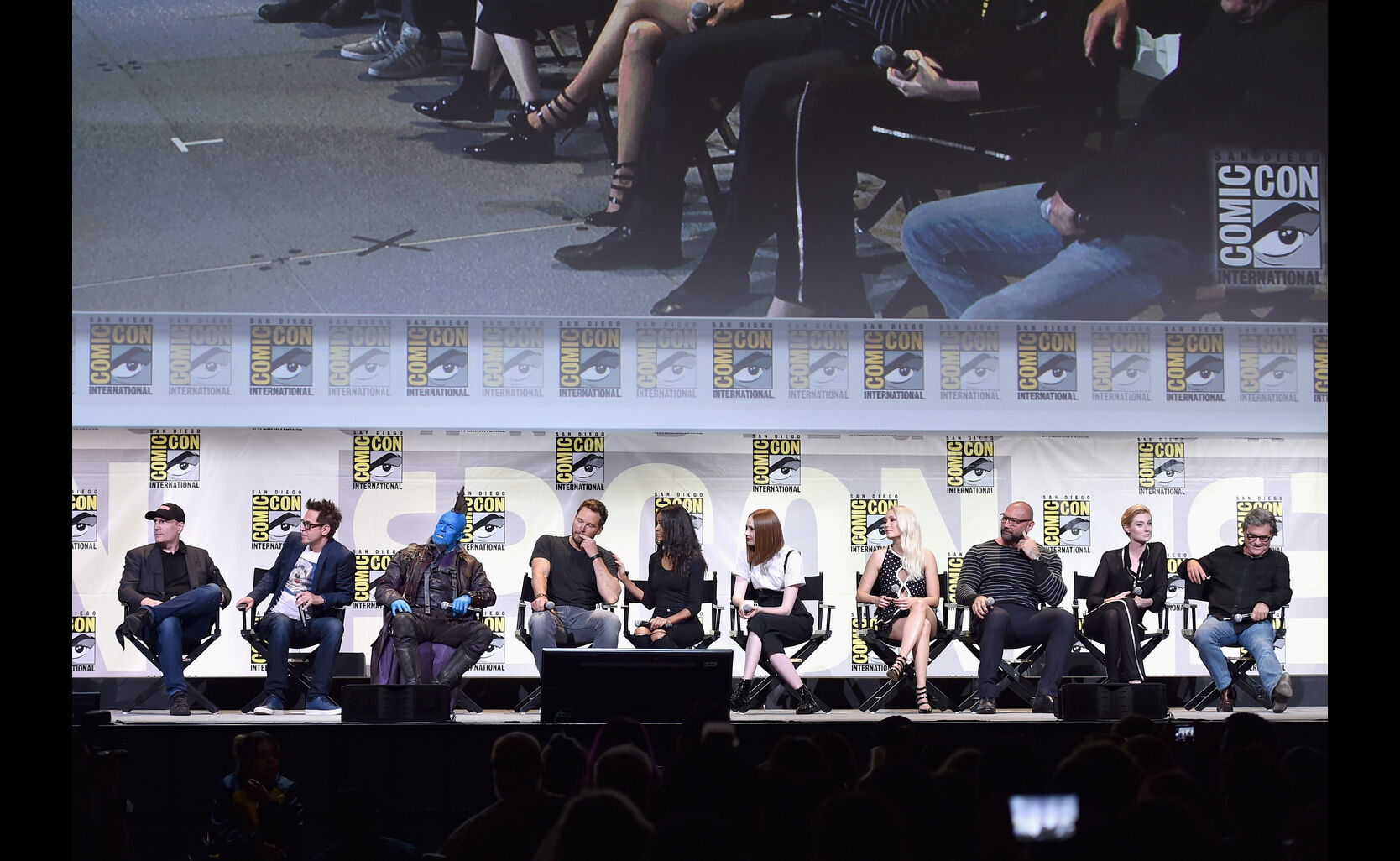 """Guardians of the Galaxy"" presentation as part of the Marvel Studios panel during Comic-Con 2016"