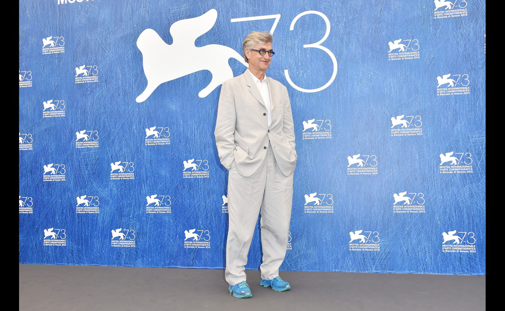 Filmmaker Wim Wenders, in Venice 2016