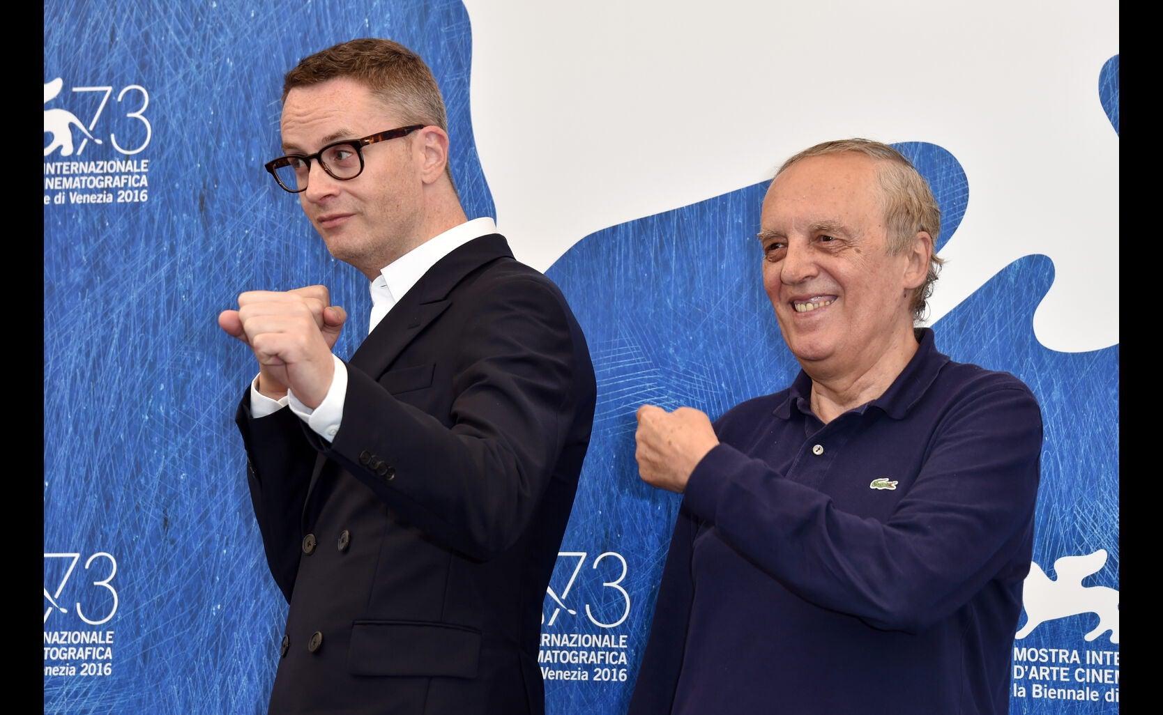 Directos Nicolas Winding Refn and Dario Argento