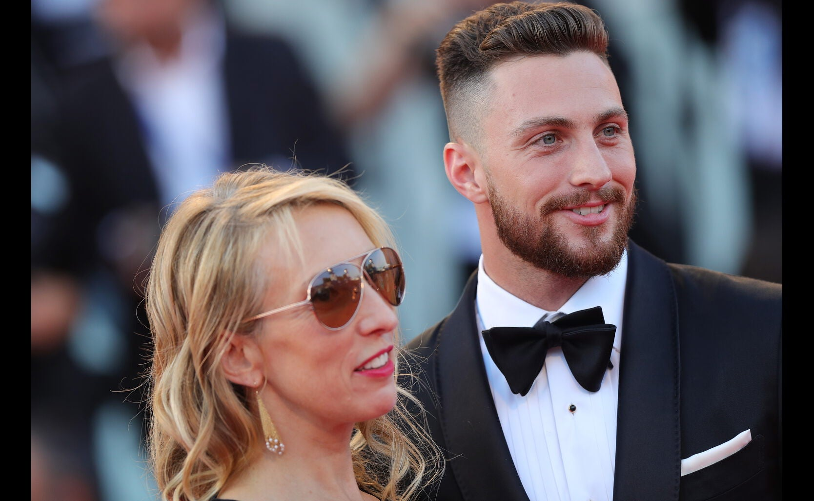 Actor Aaron Taylor-Johnson and director Sam Taylor-Johnson