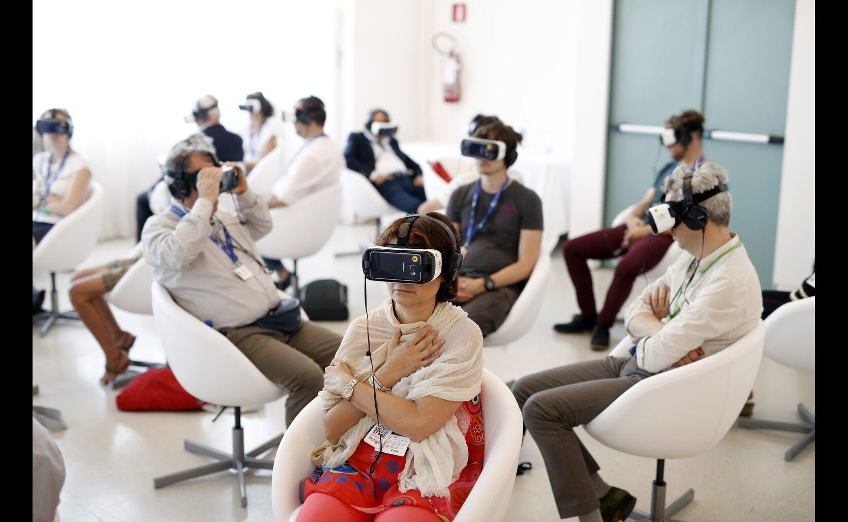 Virtual reality at Vencie 2016