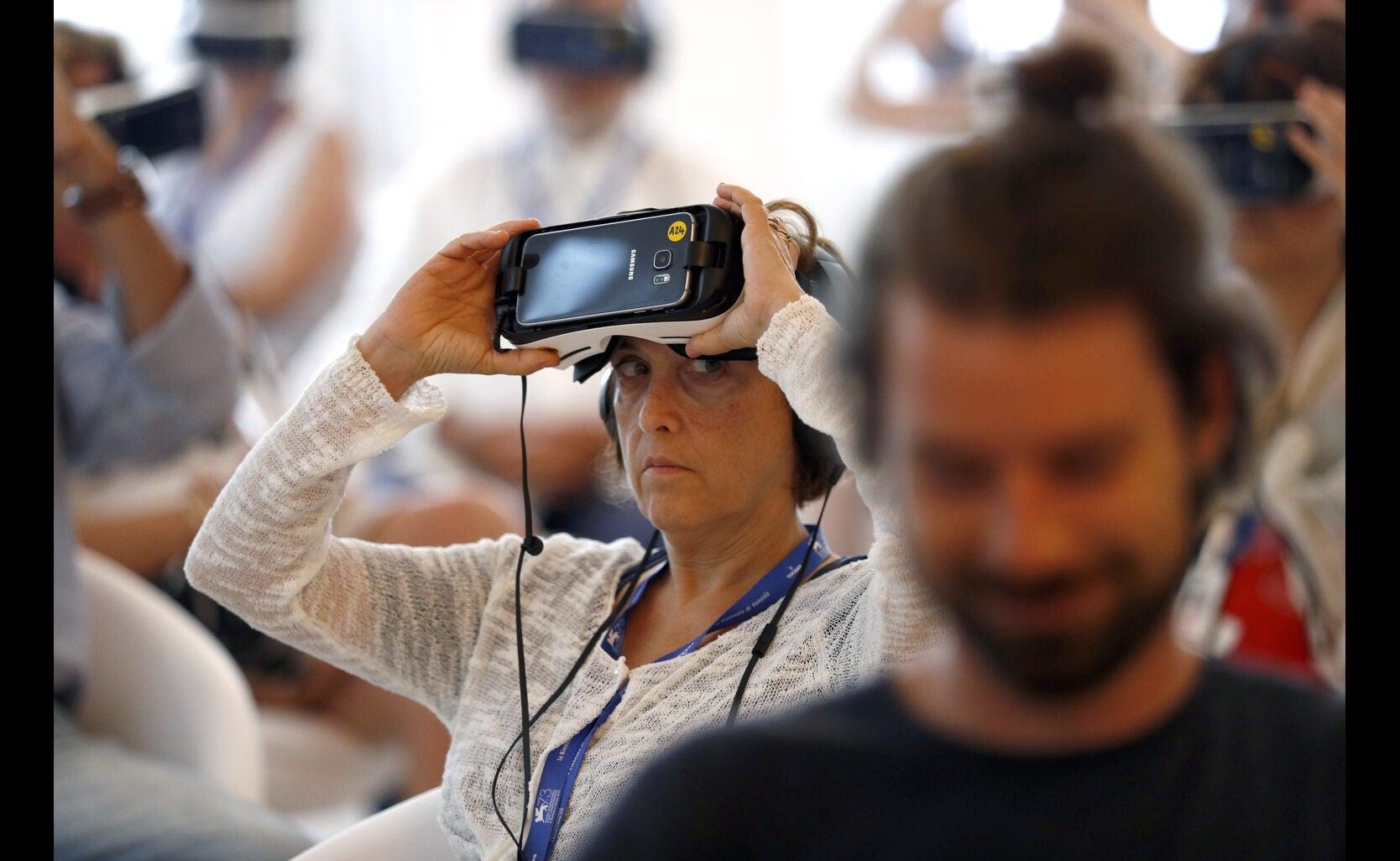 Virtual reality at Venice 2016
