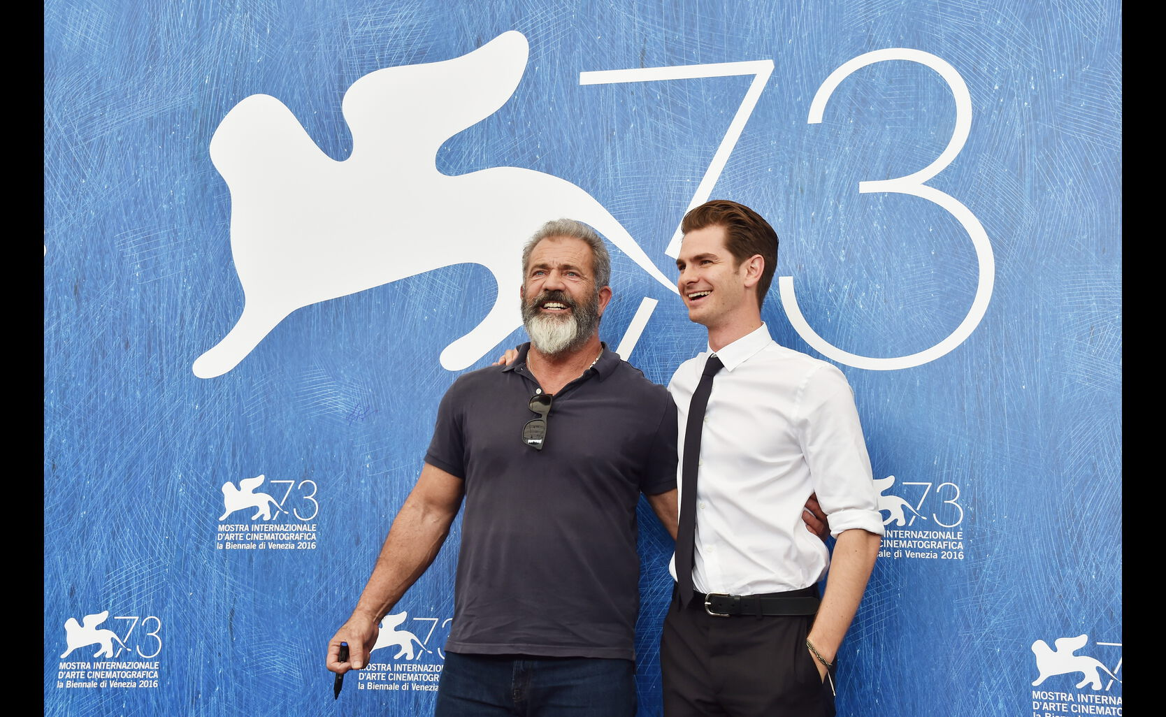 Golden Globe winner Mel Gibson and Golden Globe nominee Andrew Garfield