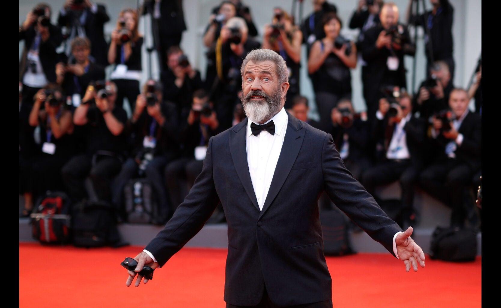 Golden Globe winner Mel Gibson