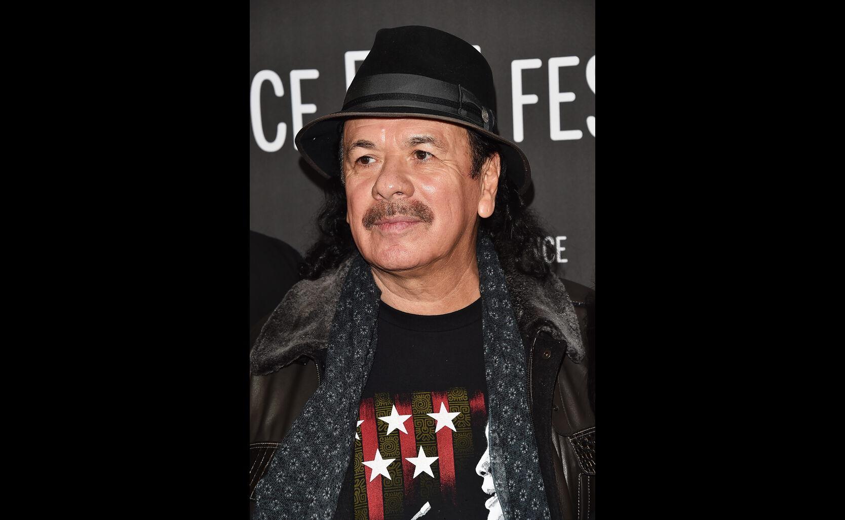 Carlos Santana at Sundance 2017