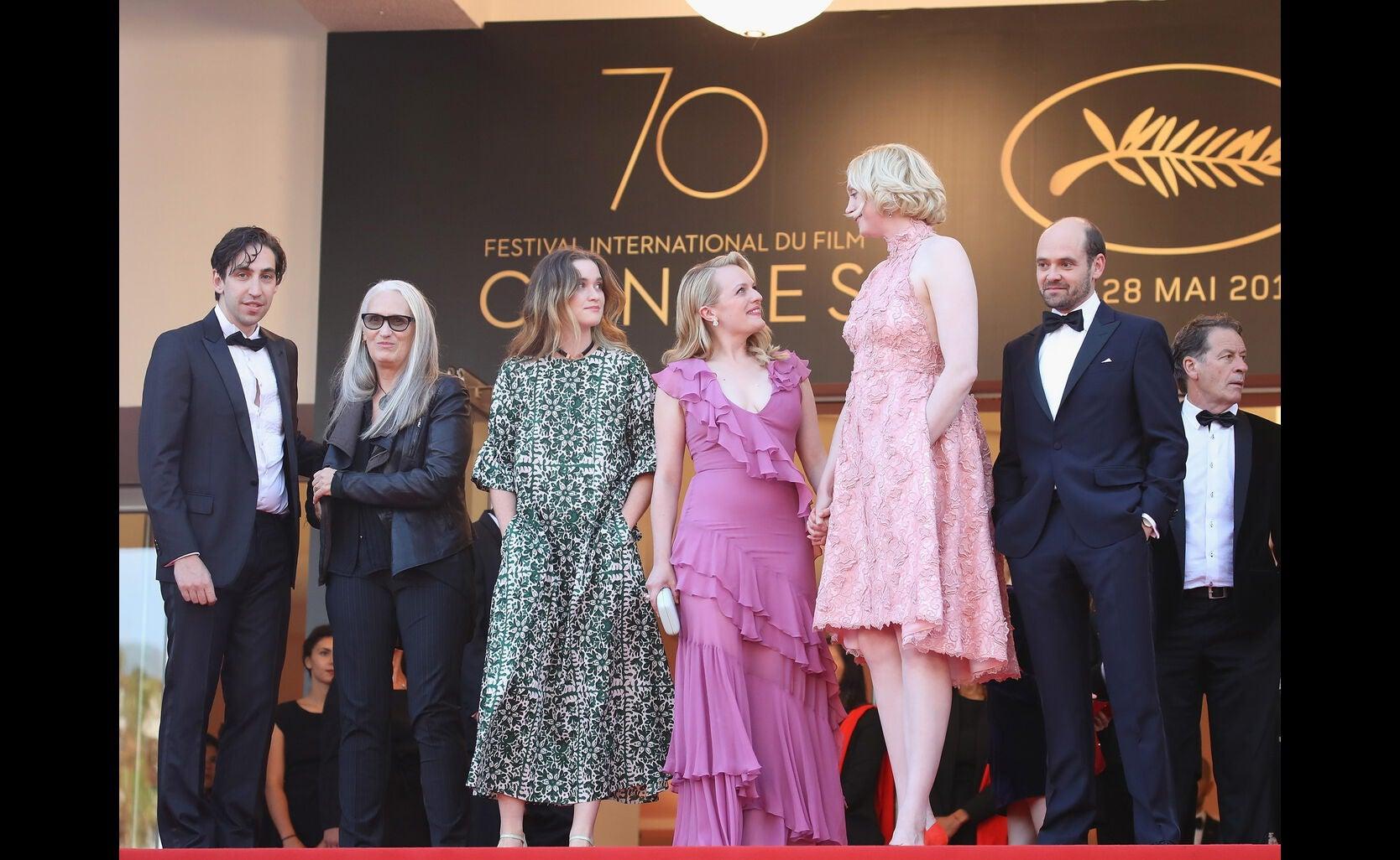 Ariel Kleiman, Jane Campion, Alice Engler, Elisabeth Moss, Gwendoline Christie and David Dencik