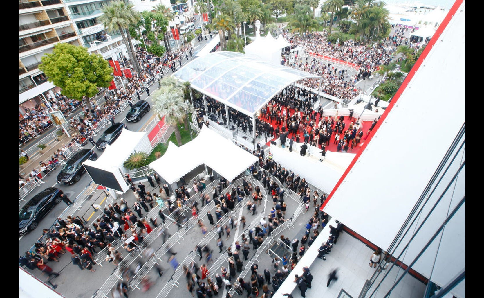Aerial view of 'Twin Peaks' Premiere at Cannes Film Festival 2017