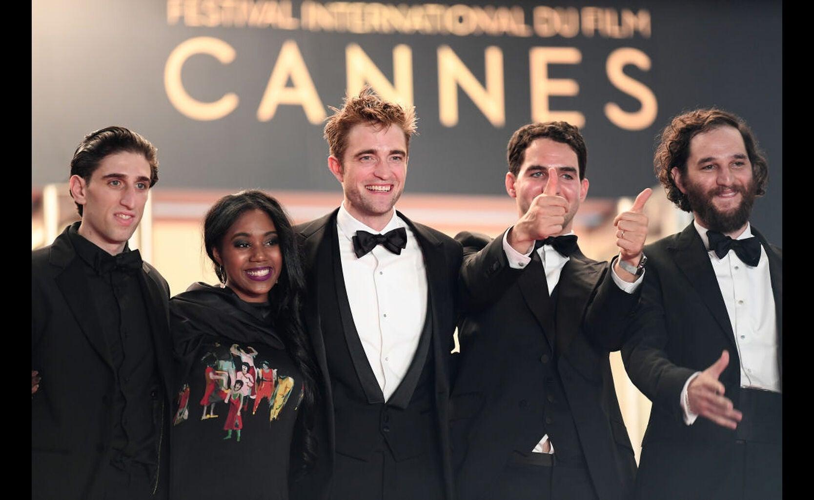 Actor Buddy Duress, actress Taliah Webster, actor Robert Pattinson, writer and co-director Ben Safdie and Co-director Joshua Safdie