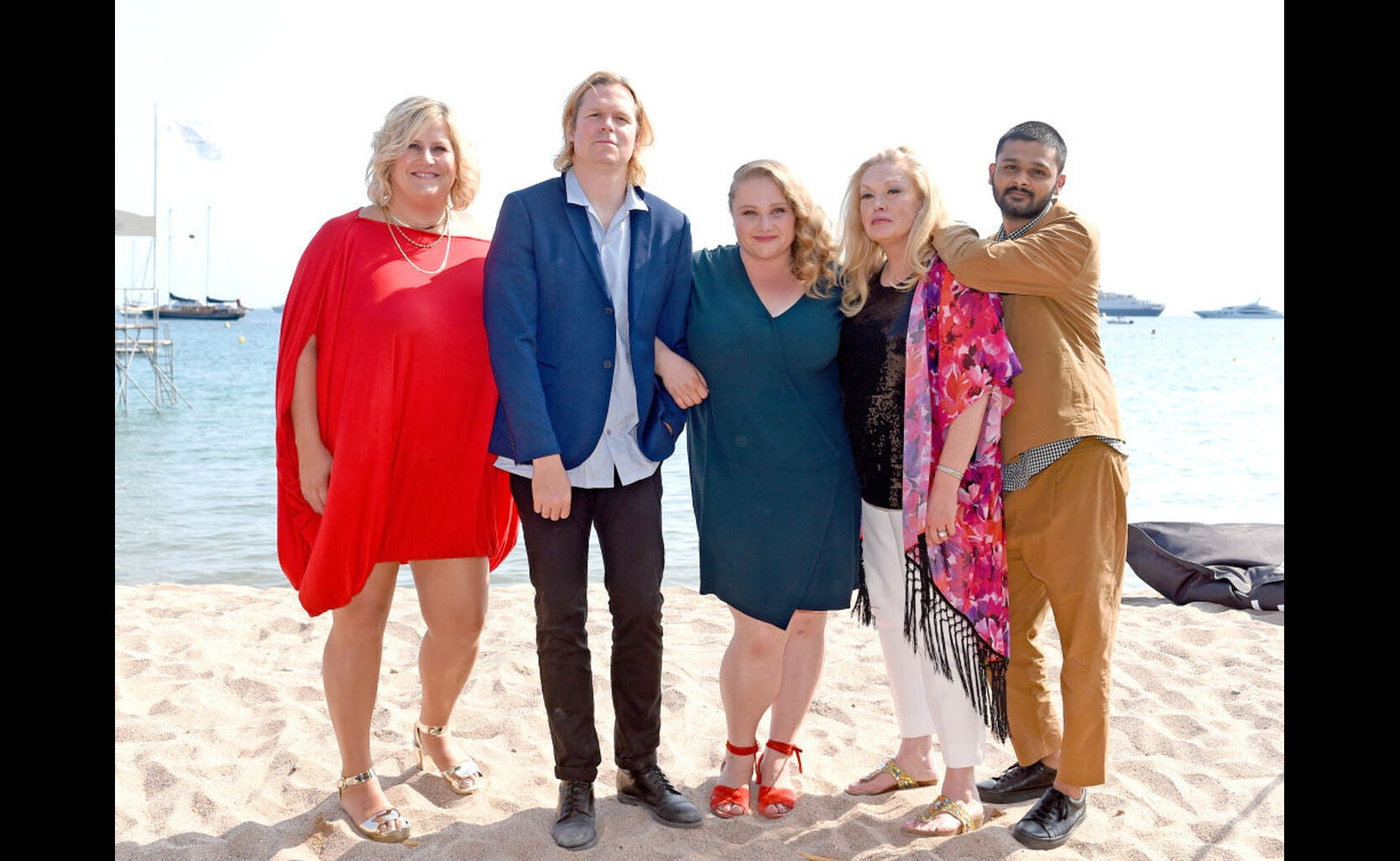 Bridget Everett, Geremy Jasper, Danielle Macdonald, Cathy Moriarty, and Siddharth Dhananjay