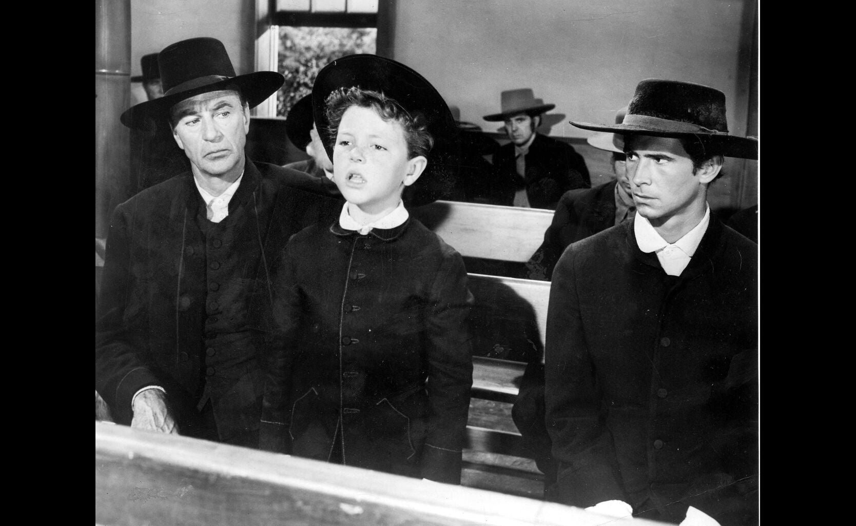 Scene from the movie Friendly Persuasion