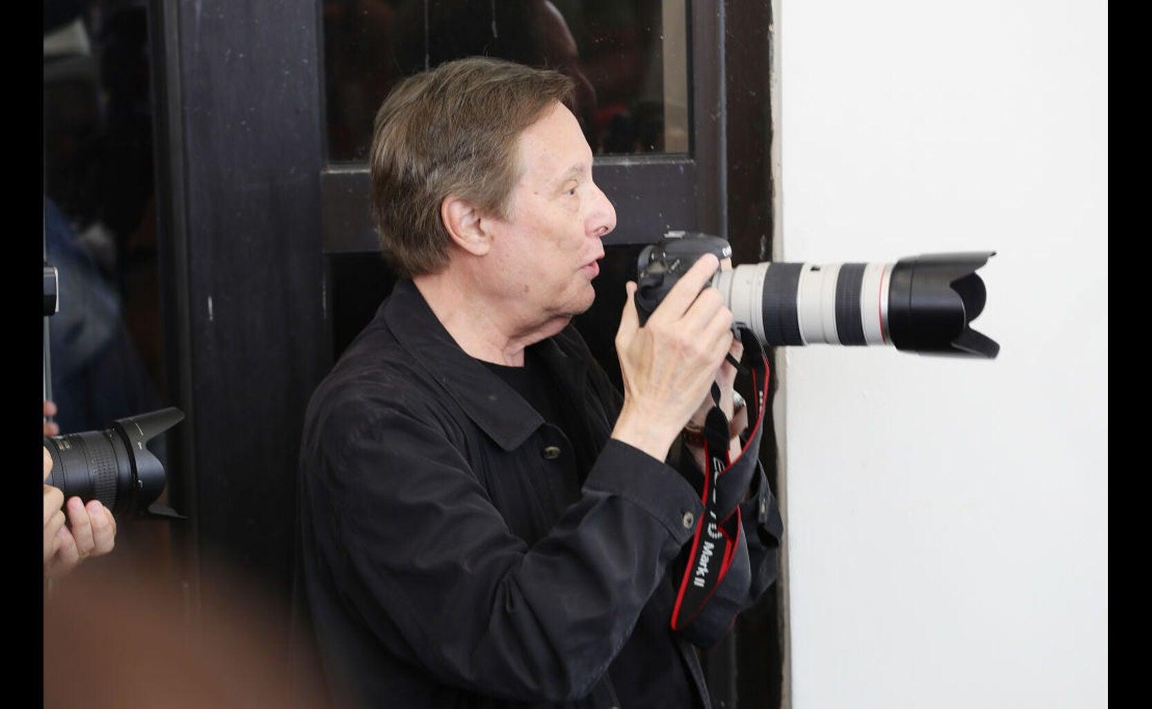 Director William Friedkin in Venice 2017